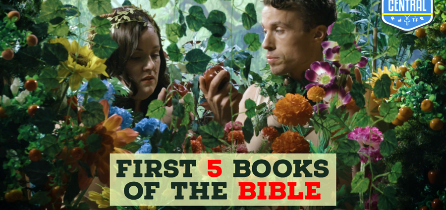 Adventure and Drama in the 'First 5 Books of the Bible'