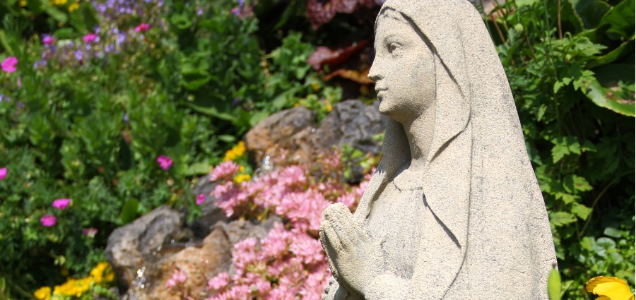 Planting Hope! Final Week to Enter the 2021 Mary Garden Contest!