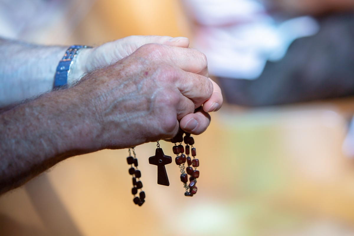 The Healing Balm of the Rosary during Tough Times