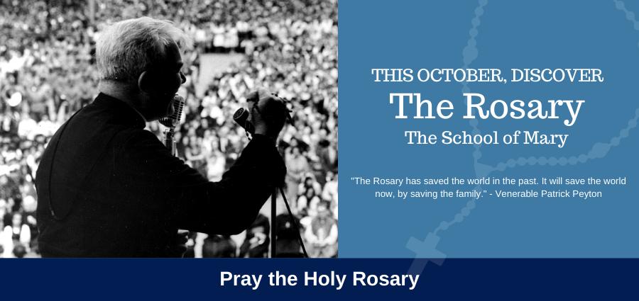 School of Mary: Pray the Holy Rosary
