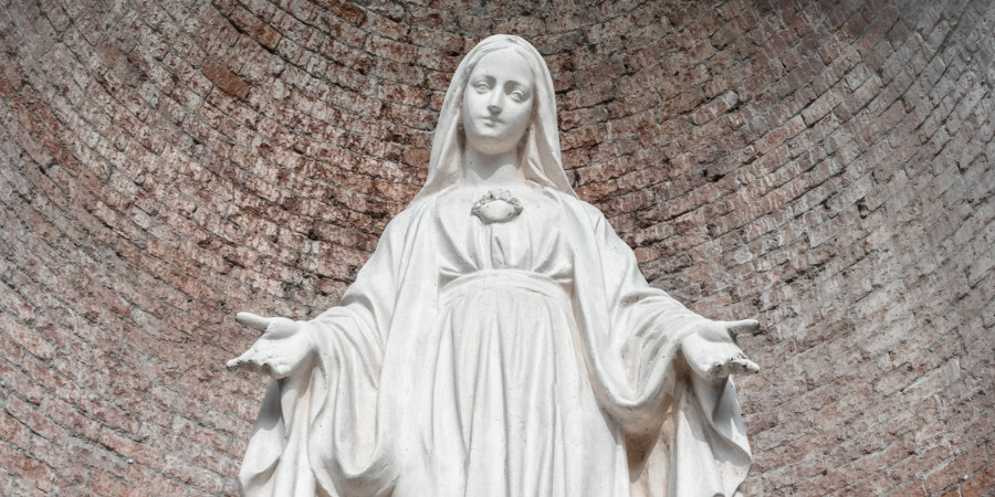 A Month of Mary Meditation